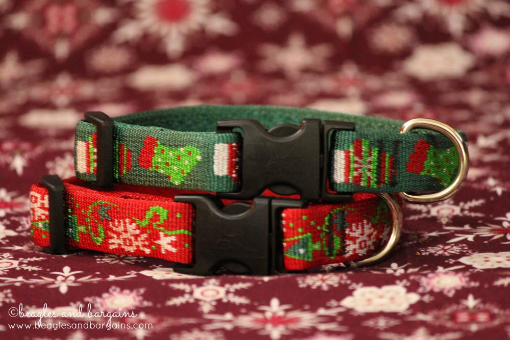 Lupine Christmas Christmas Cheer and Stocking Stuffer Dog Collars