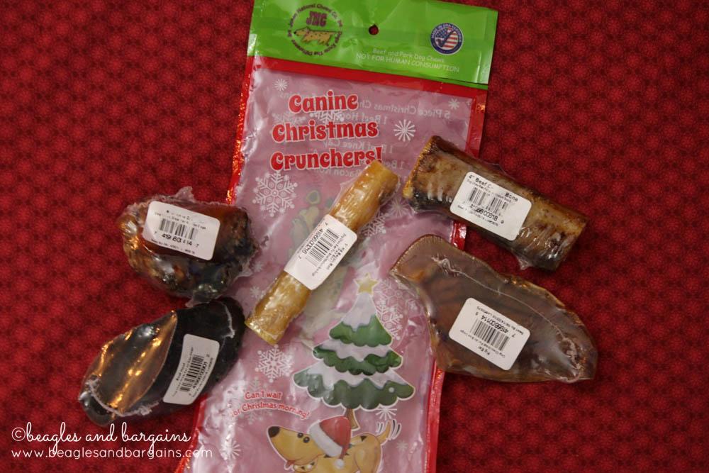 Jones Natural Chews Canine Christmas Crunchers