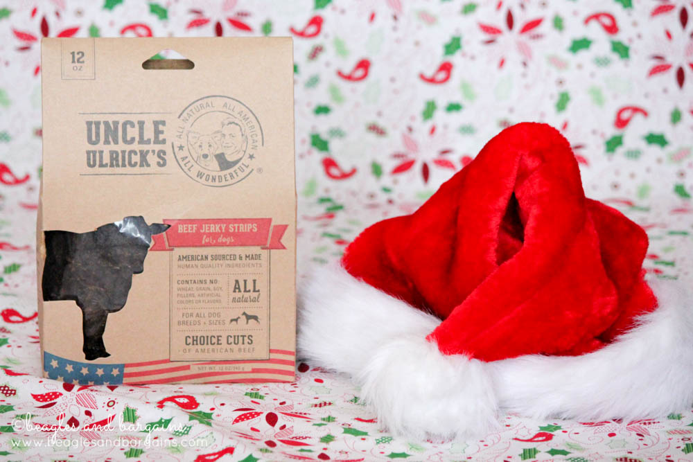 Uncle Ulrick's Beef Jerky for dogs