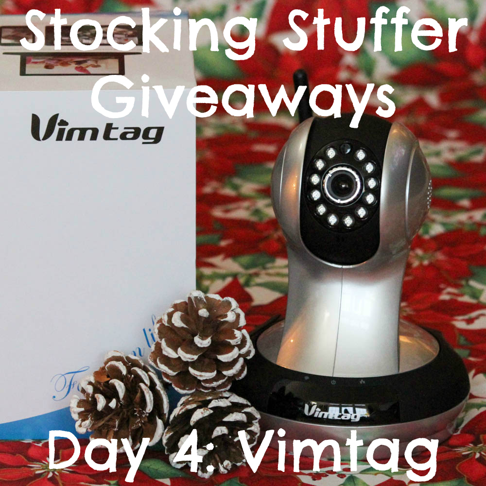 Beagles & Bargains Stocking Stuffer Giveaways 2015 - Day 4 - Vimtag Indoor Camera