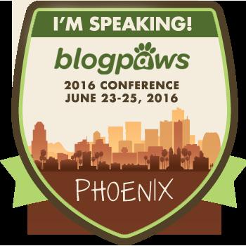 I'm speaking at BlogPaws 2016!