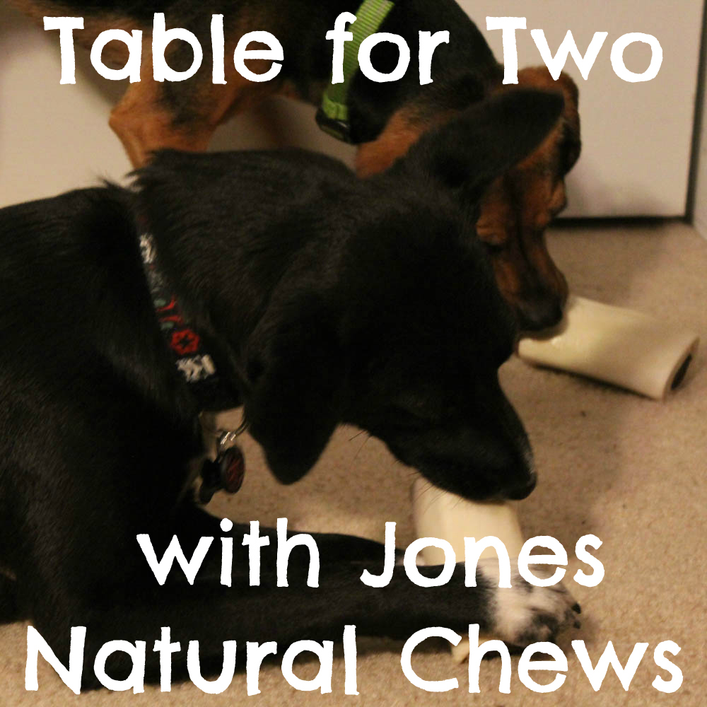 Table for Two with Jones Natural Chews