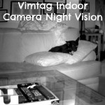 See Your Dogs Easily with Vimtag Indoor Camera's Night Vision
