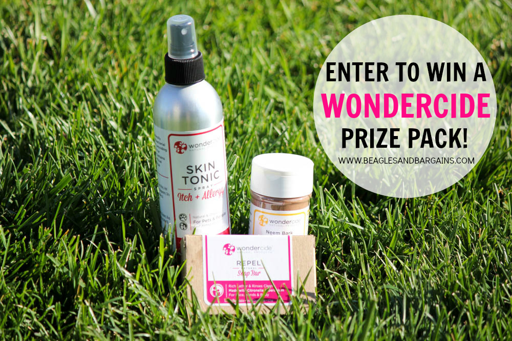 Enter to win a Wondercide Prize Pack!