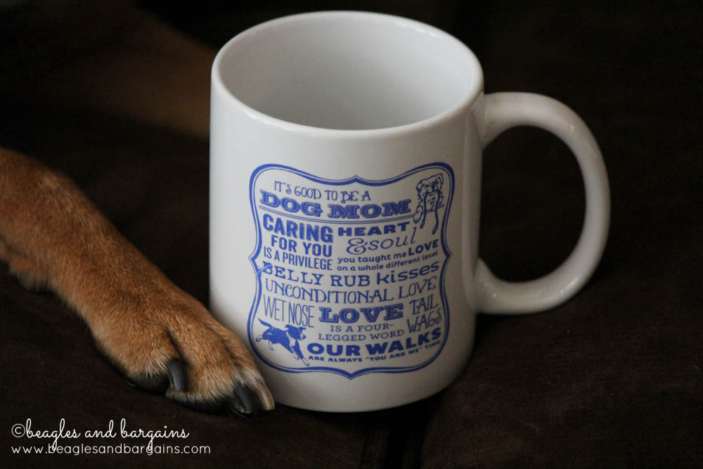 Dog Mom Coffee Mug from Dog Is Good - Gift Ideas!