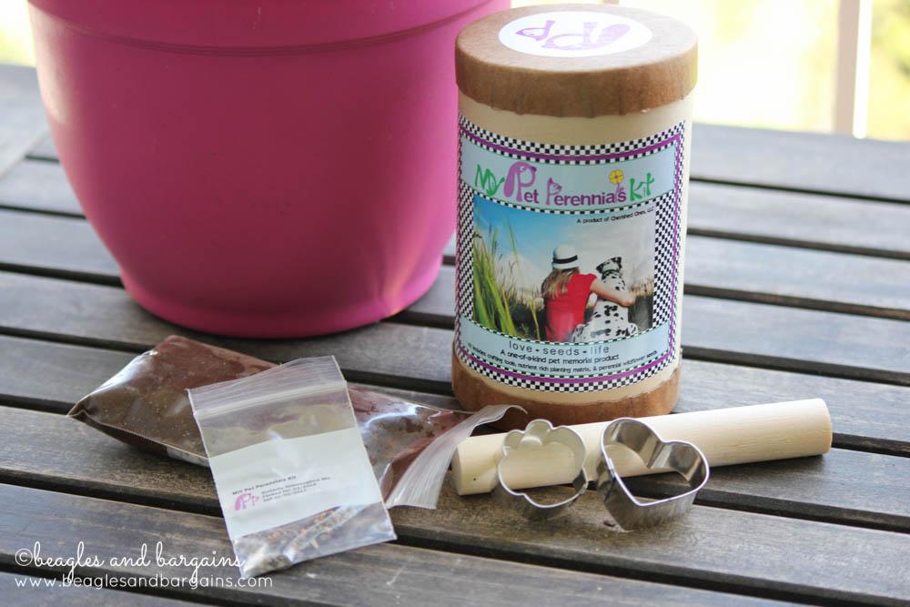 DIY Pet Perennials Kit - Memorial for lost pets