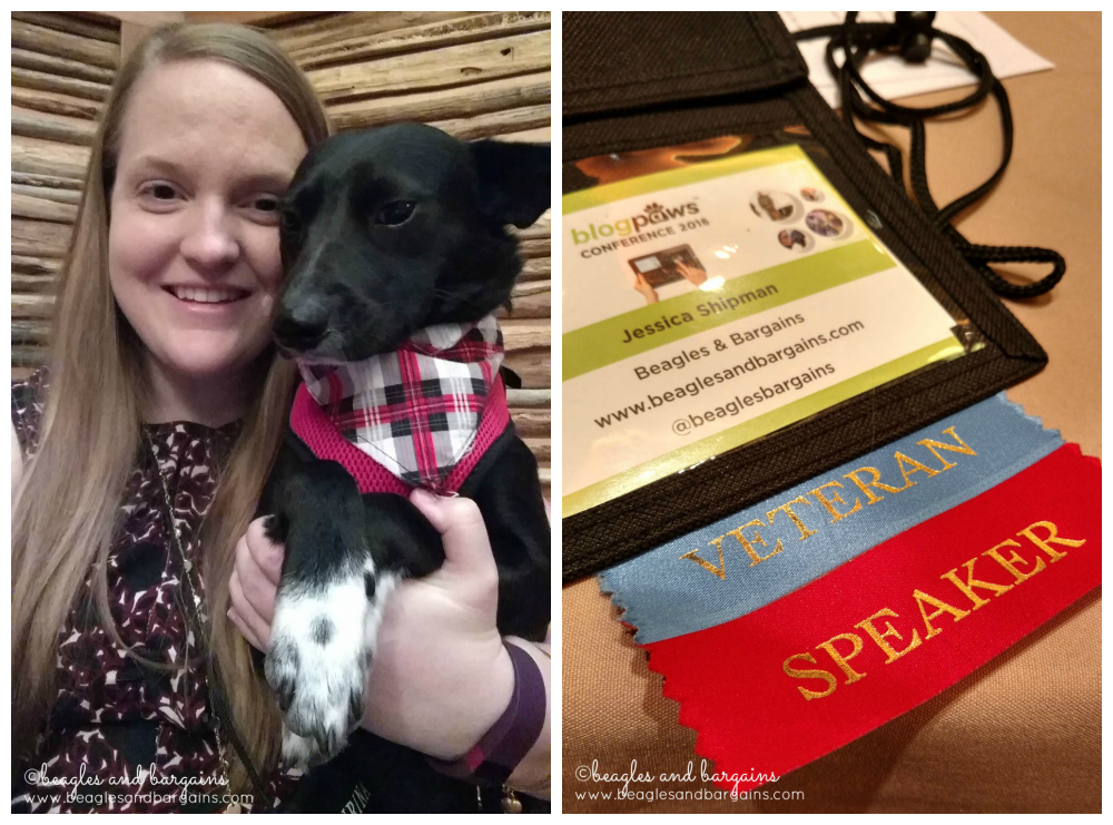Proud to be a speaker during BlogPaws Conference 2016!
