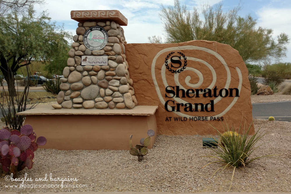Sheraton Grand at Wild Horse Pass was the venue for BlogPaws Conference 2016.