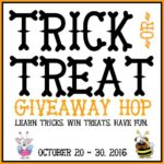 Turn Bad Habits Into Dog Tricks – Trick or Treat Giveaway Hop