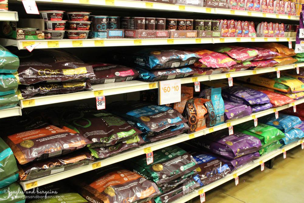 Wellness CORE dog food for sale at PetSmart