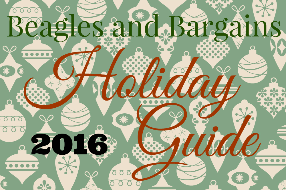 Beagles & Bargains Holiday Guide 2016