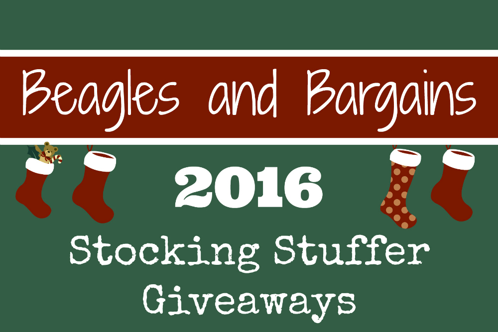 Beagles & Bargains Stocking Stuffer Giveaways 2016