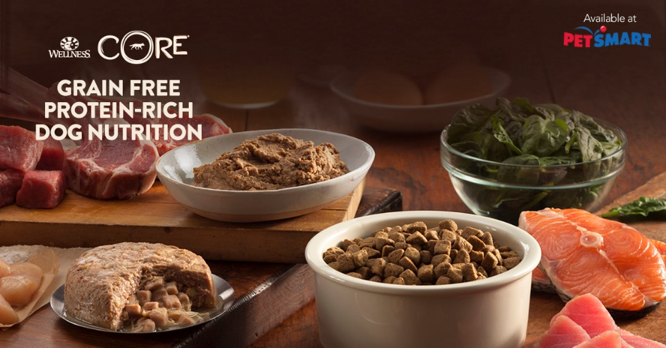 Wellness CORE is protein rich and available at PetSmart
