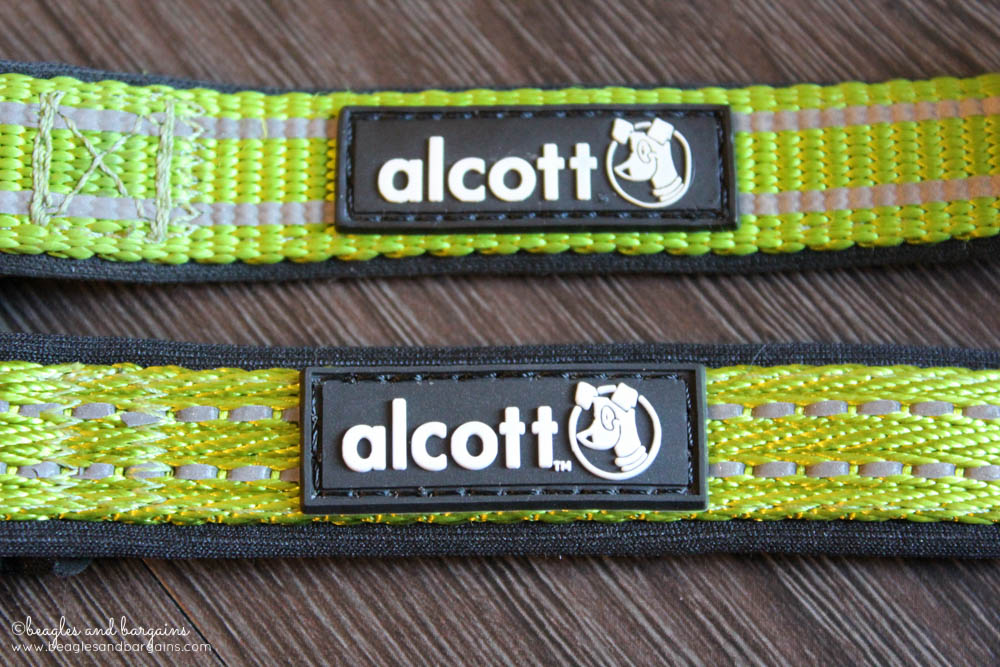 Comparison of the new (bottom) and old (top) Alcott Adventure Nylon Collars.