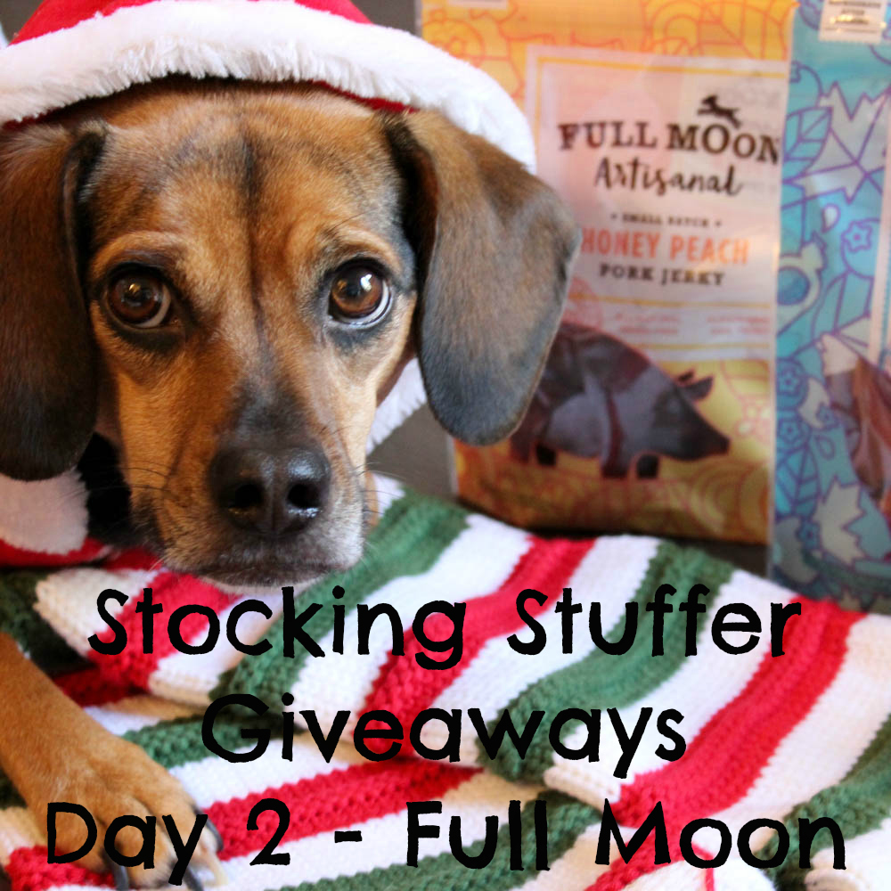 Beagles & Bargains Stocking Stuffer Giveaways 2016 - Day 2 - Full Moon Artisanal Jerky Treats