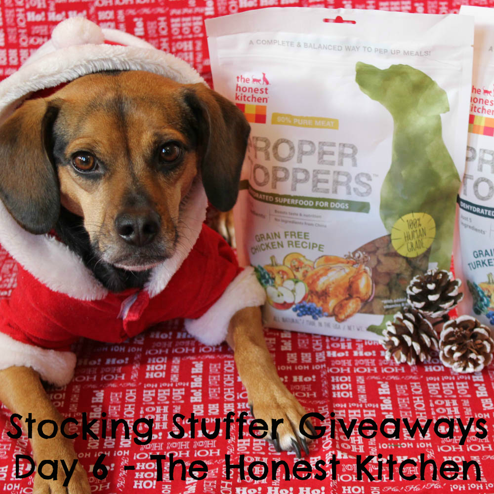 Beagles & Bargains Stocking Stuffer Giveaways 2016 - Day 6 - The Honest Kitchen Proper Toppers