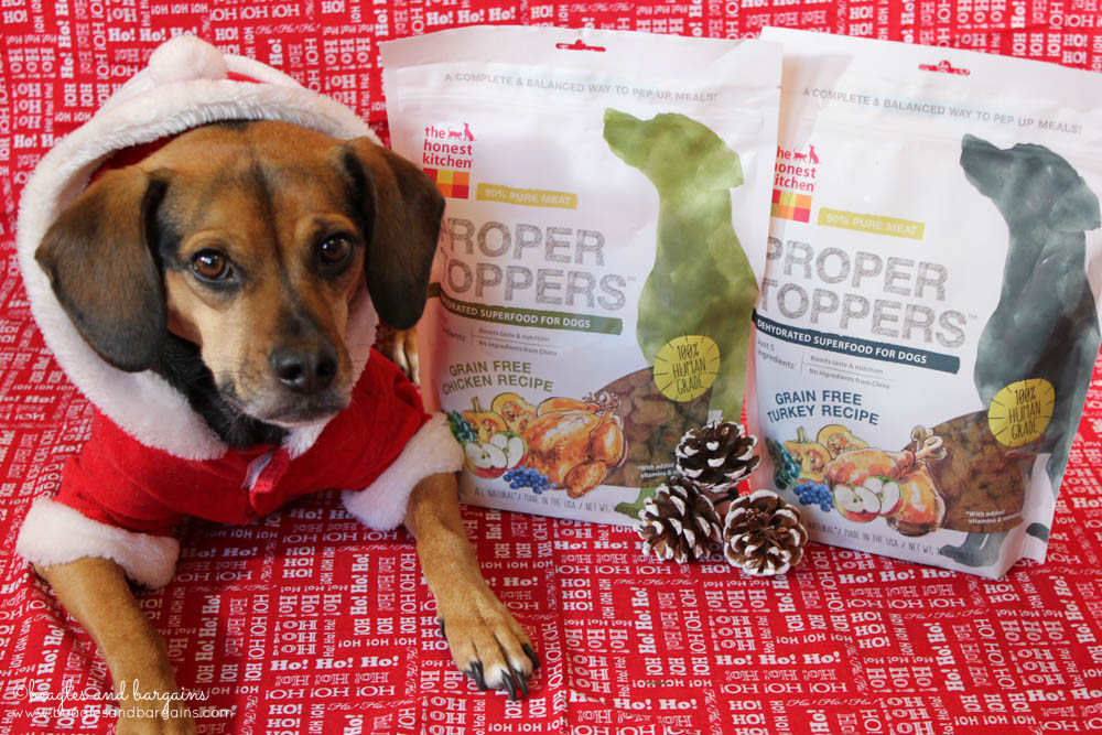 Luna is excited for Chicken and Turkey Proper Toppers from The Honest Kitchen