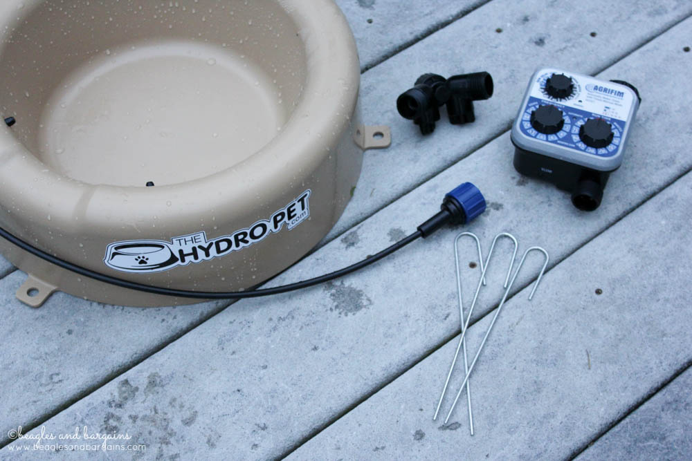 The Hydro Pet Bowl Kit