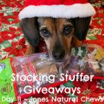 Stocking Stuffer Giveaway Day 11: Jones Natural Chews