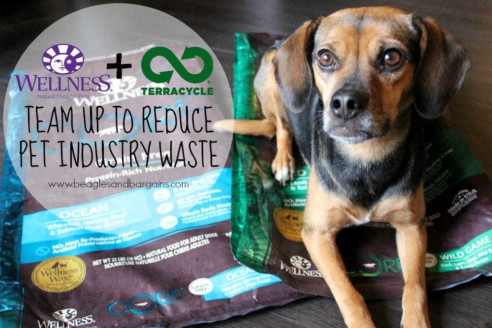 TerraCycle and Wellness Pet Food allow pet parents to recycle and earn rewards
