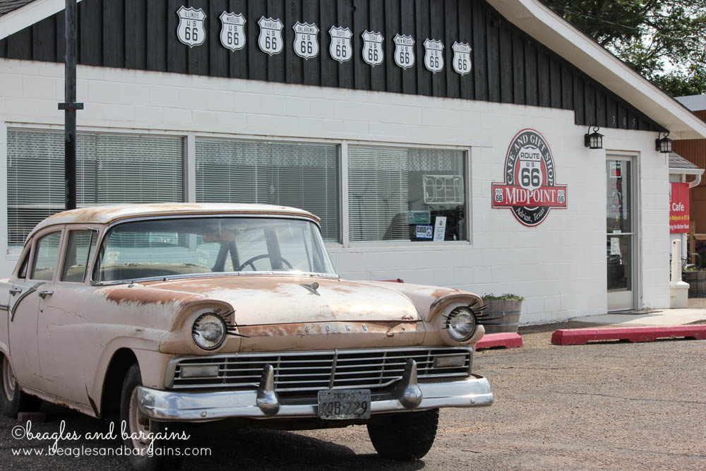 MidPoint Cafe in Adrian, TX off historic Route 66 was inspiration for Disney Pixar movie Cars