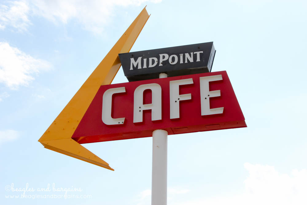 MidPoint Cafe in Adrian, TX off historic Route 66