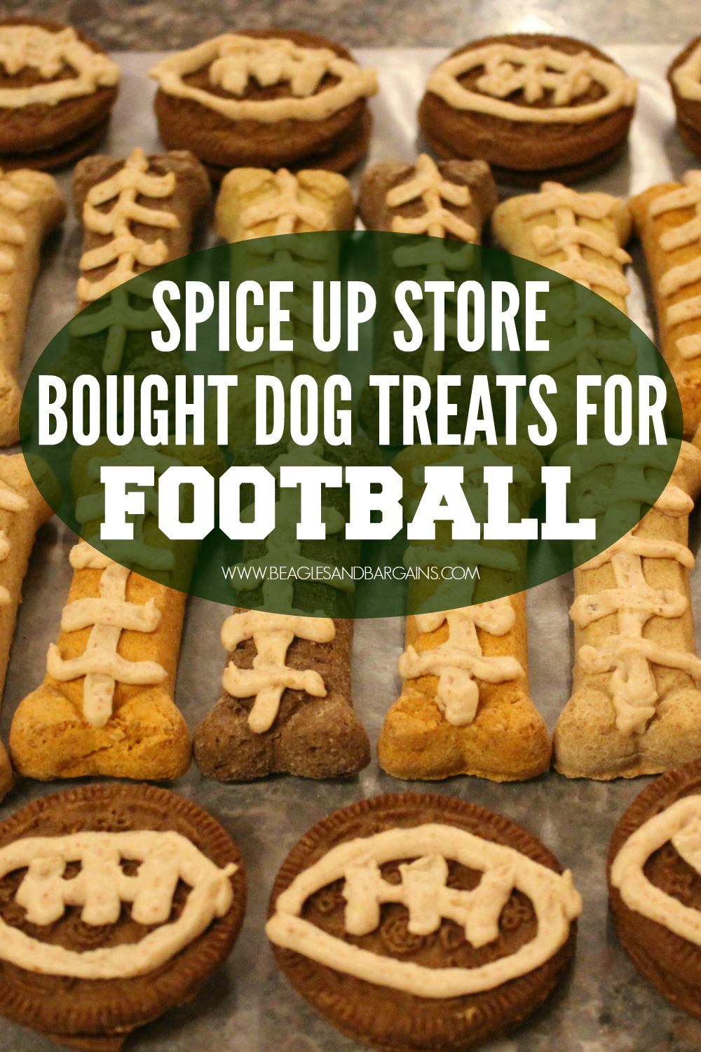 How to Spice Up Store Bought Dog Treats for Football Season
