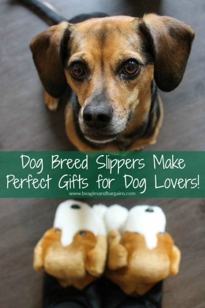 Dog Breed Slippers Make Perfect Gifts for Dog Moms and Pet Lovers! Beagle Slippers, Animal Slippers, Bunny Slippers