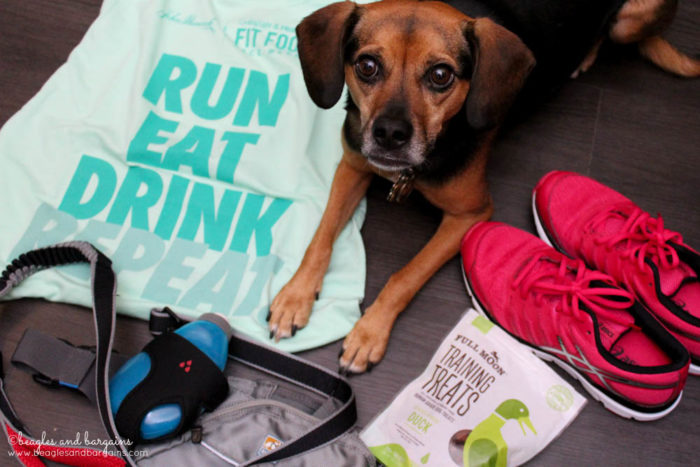 John Hancock Hosts The Cooking Light & Health Fit Foodie Festival & 5K - Fairfax, VA - June 3, 2017 - Luna is ready!