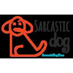 Sarcastic Dog Logo