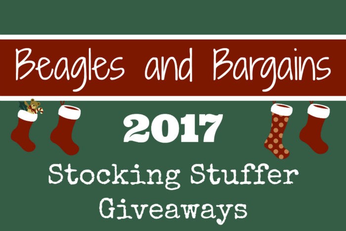 Beagles & Bargains Stocking Stuffer Giveaways for Dogs and Dog Moms 2017