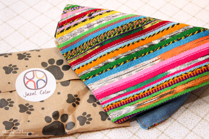 How Your Dog's Bandanas Can Give Back   Stocking Stuffer Giveaways   Win a Bandana for Dogs    #sponsored by Jazal Color