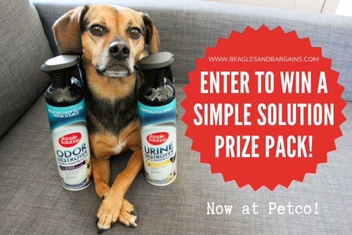 Start Your Spring Cleaning with Simple Solution - Now Available at Petco - {cleaning, pets, dogs, giveaway}