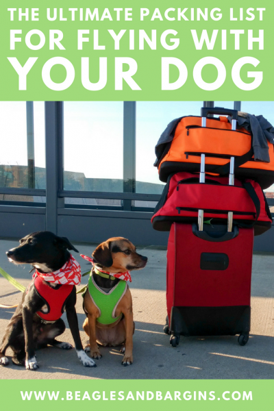 The Ultimate Packing List for Flying With Your Dog {For Beginners} | #sponsored by Sleepypod | Dogs, Airplane, Pet Friendly, What to Bring