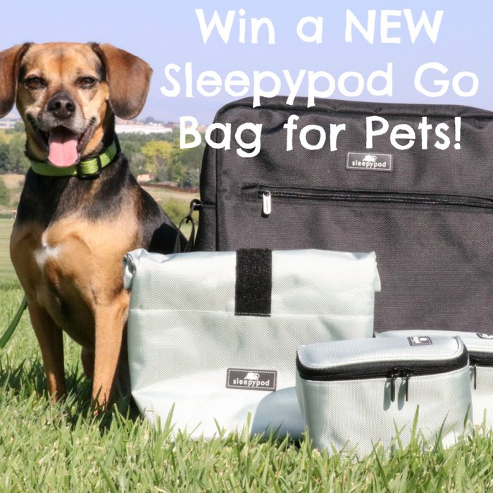 Enter to Win a NEW Sleepypod Go Bag for Pets | #sponsored by Sleepypod {travel, pet friendly, printable, vacation, road trip, packing list, dog}