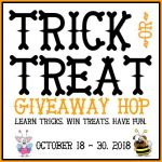 Teach Your Dog to Spin {Trick or Treat GIVEAWAY Hop 2018} **CLOSED**