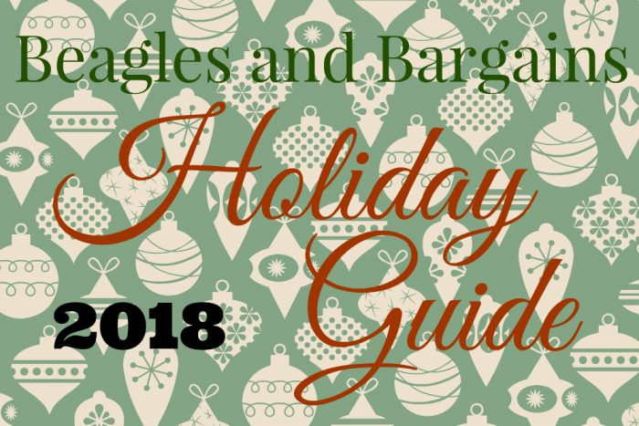 Beagles & Bargains 2018 Holiday Guide for Dogs & Dog Moms - 42 Gift Ideas for Pet Lovers