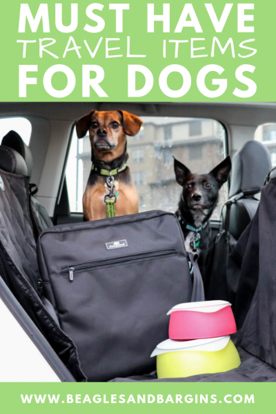 Must Have Travel Items for Dogs | Stocking Stuffer Giveaways | Win a Sleepypod Go Bag and Yummy Travel Bowls | #sponsored by Sleepypod