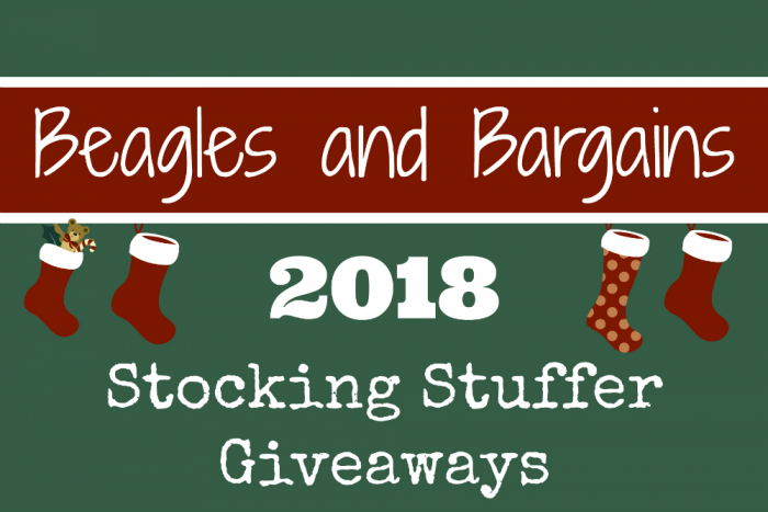 Beagles & Bargains Stocking Stuffer Giveaways for Dogs and Dog Moms 2018